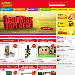 Baumax online shop
